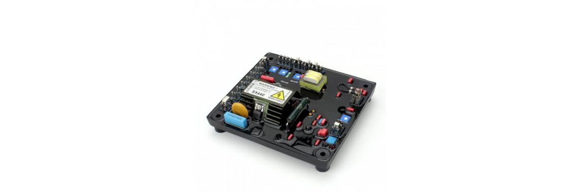 SX440 AVR szabályzó elektronika